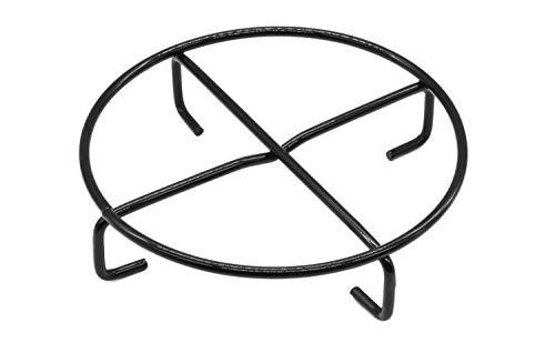 Santos (Dutch Oven) Untersetzer - Durchmesser 20 cm - Emaillierter Stahl - Dutch Oven Feuertopf Untergestell - einsetzbar für Santos, Petromax, Lodge, Skeppshult