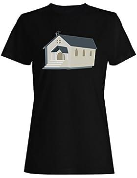 Recién casado boda amor novia iglesia camiseta de las mujeres d637f