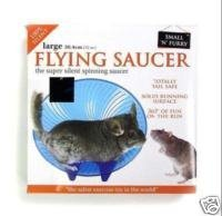 Small n Furry Flying Saucer Hamster Wheel (6.5 inch)