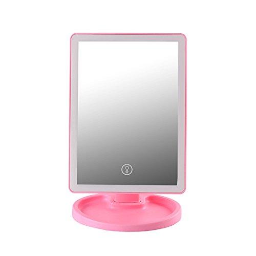 Ysayc Führte Make-up Spiegel Aufbewahrungsbox Desktop Kreativität Mädchen Dorm Room Removable Beauty Kosmetikspiegel Senden Sie...