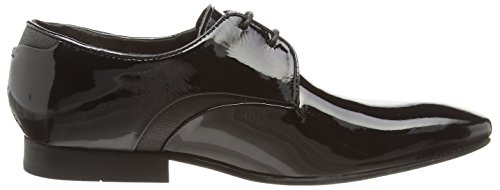 Hudson London Dawlish Herren Derby Schwarz (Black)