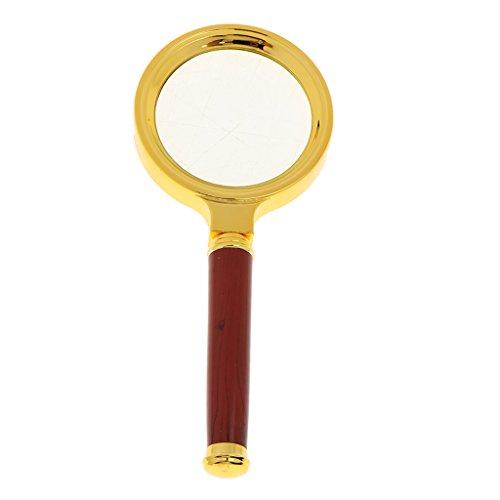 F Fityle 60mm Vintage Lupe Kinder Handlupe Spielzeug Lehr-Tools - 60mm