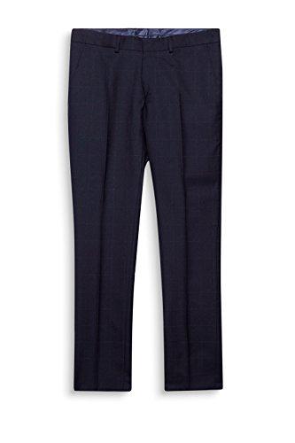 ESPRIT Collection Herren Anzughose Blau (Navy 400)