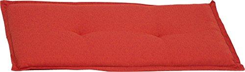 Beo BA2P215 Gartenbankkissen Bankkissen für 2-Sitzer orange 100 x 45 cm -