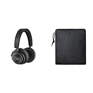 Bang & Olufsen Beoplay H9i Bluetooth Over-Ear Kopfhörer (drahtloser, Active Noise Cancellation, Transparenz-Modus und Mikrofon) schwarz + Kopfhörerbeutel aus Leder Schwarz (B07FKQLGQV) | Amazon price tracker / tracking, Amazon price history charts, Amazon price watches, Amazon price drop alerts