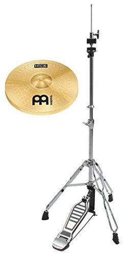 "Meinl HCS 14"" HiHat Set (MS63 Legierung, Finish: Regular, inkl. Hi-Hat Maschine)"