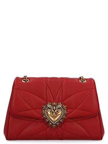 Luxury Fashion | Dolce E Gabbana Donna BB6728AV96787124 Rosso Borsa A Spalla | Autunno Inverno 19