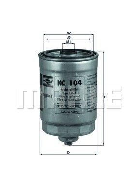KNECHT KC 104 Filtres