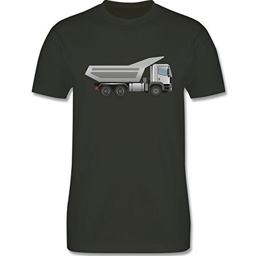 Andere Fahrzeuge - Muldenkipper Wannenkipper - Herren Premium T-Shirt Army Grün