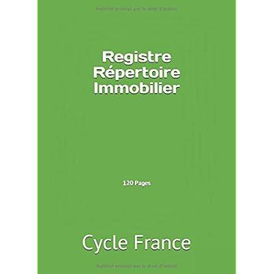 Registre Répertoire Immobilier 120 Pages