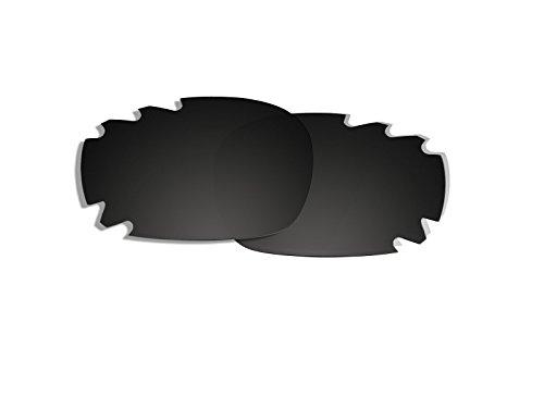 Schwarz Polarisierte Ersatz Gläser für Oakley Jawbone Vented Sonnenbrille