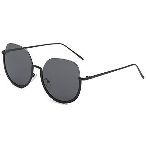 Dtuta Brillen, Sonnenbrillen & ZubehöR Damen MäNner Und Frauen PersöNlichkeit Runden Brillengestell Trend Punk Wind Brillengestell Retro Multi-Color-Objektiv Leicht Und Einfach Zu Tragen