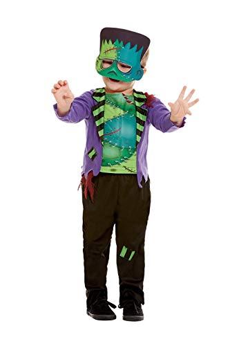 Smiffys 50793T1 Monster-Kostüm, Jungen, Grün, Alter 1-2 Jahre (Monster Kostüm, Kleinkind, Junge)