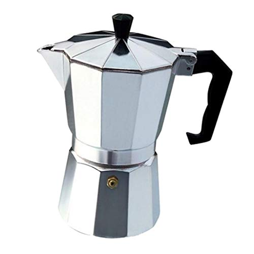 Aluminium-kochfeld Espresso Maker (F Fityle Espressomaschinen Kaffeekocher Espressokocher Espressokanne Espresso Maker, 15,5 x 7 x 7 cm)