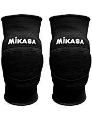 Mikasa ginocchiera volley Premier, black nero
