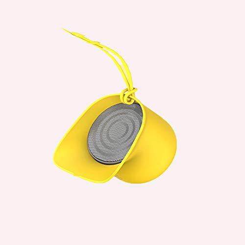 DRKJ Mini-Stereoanlage, Mini Bluetooth Lautsprecher Drahtlose Tragbare Kleine Stereo-Stereo-Outdoor-Home-Persönlichkeit Kleiner Lautsprecher