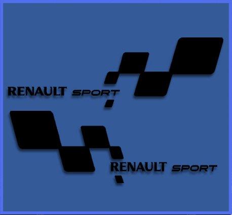 pegatinas-renault-sport-rs-33-dr1018-vinilo-adesivi-decal-aufkleber-stickers-car-voiture-sport-racin