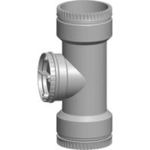Wolf 2651577Muffe Verbindung Rohr flexibel Gase mit Stück T DN83