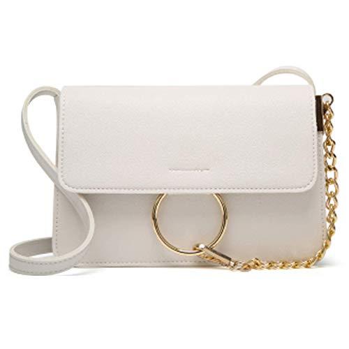 Neue Clutch Handtasche Tasche (Kleine Tasche Damen Neue Mode Wilden Schultertasche Handtaschen Casual Umhängetasche 22 * 14 * 18cm,Red-22 * 14 * 18cm)