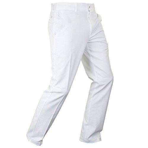 Callaway Golf Herren X Bereich Tech Hose II Slim Fit - Bright Weiß - 38-30 (Opti-bereich)
