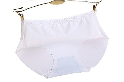 DODOING Damne Panties Sexy Slips Hipster Unterwäsche Unterhosen Weiß