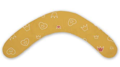 Il cuscino per gravidanza e allattamento THERALINE Dodo è imbottito con microperle, con rivestimento esterno 170 cm