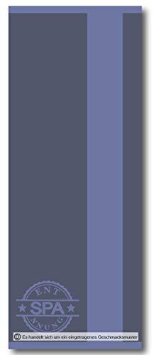 Casa Colori Saunatuch 70x200 cm Duschtuch Saunalaken 100{1ced5763badb0af2847d9b7f3bc575c5937653bea6da54e524c8cbed1935a96f} Baumwolle Extra Lang Blau, Farbauswahl:Blau