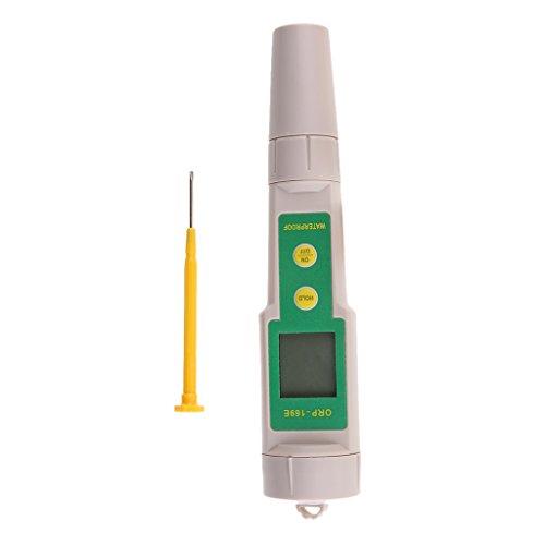 MagiDeal ORP PH-mètre Testeur de Température Affichage LCD Test de qualité d'eau pour Piscine Aquarium