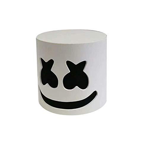 Party Zukunft Kostüm - Musik DJ Maske Party Requisiten Vollkopf Maske Halloween Cosplay Replik Latex Helm Konzert Requisiten Zukunft Bass Musik Bars Party Kostüm