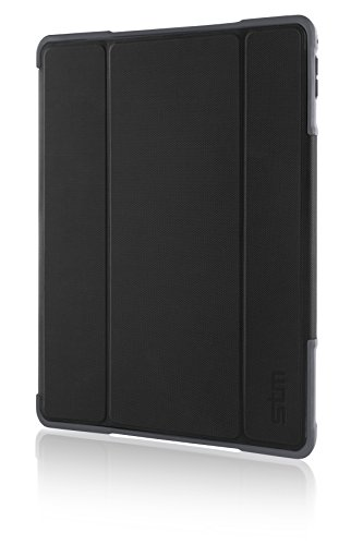 STM Bags Dux Plus Cover per iPad Pro 9.7, Nero