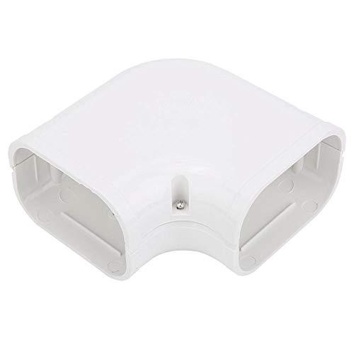 Furnoor Couvercle de Tube de Ventilation de Tube de climatisation décoratif à Angle Droit de 90 degrés Couvrant Une Bonne élasticité(2)