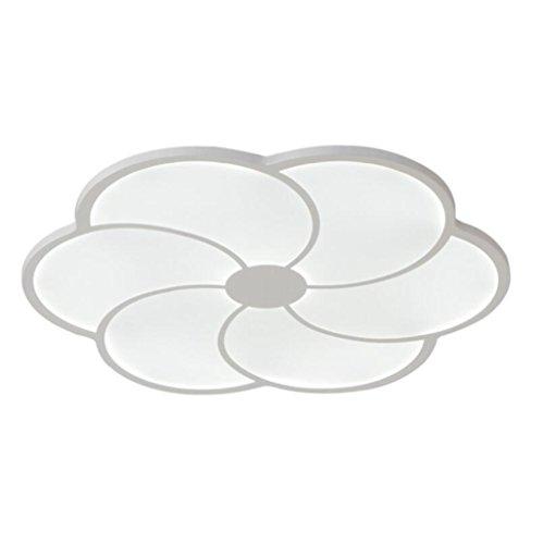 Longless Einfache moderne LED Deckenleuchte kreative Wohnzimmer Beleuchtung Schlafzimmer restaurant Lichter Lichter im Raum 45 * 45 cm
