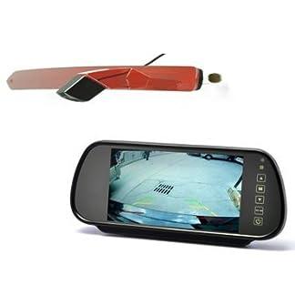 YMPA-Rckfahrsystem-Einparkhilfe-kompatibel-mit-Transporter-Mercedes-Benz-MB-Vito-Rckfahrkamera-Monitor-Innenspiegel-Rckspiegel-178-cm-7-Zoll-Inch-10-Meter-Kabel-Farbe