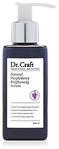 Dr. Craft Natural Purple Berry Brightening Serum For Blonde, Silver & Grey Hair. 150ml.