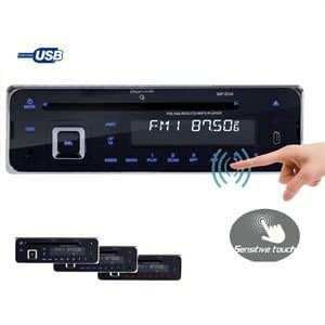 Oxygen Audio MP 204 Autoradio USB/SD/RDS amplifié 4 x 55 W