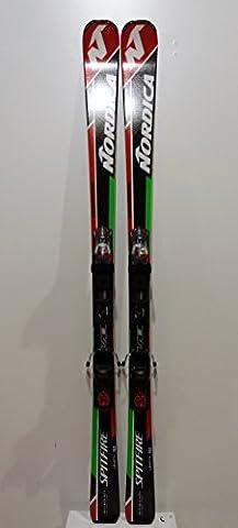 Ski NORDICA Dobermann Spitfire TI EVO + N PRO P.R.EVO 2017 – Länge: 168 cm RACE / ON PISTE
