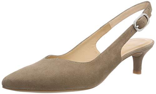 Unisa Joplin_KS, Zapatos tacón Punta Abierta Mujer
