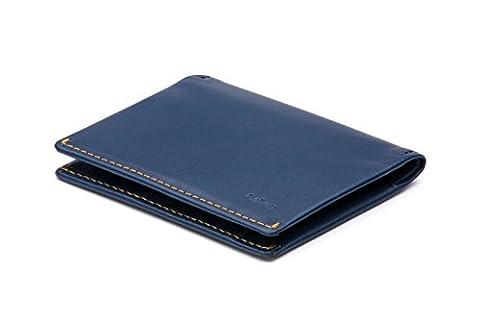 Bellroy Leather Slim Sleeve Wallet Blue Steel