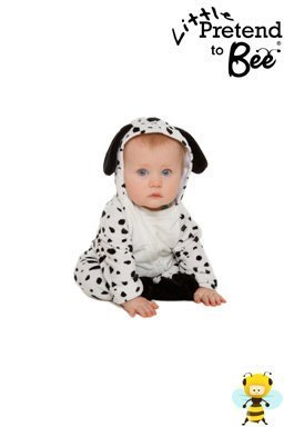 Baby Onesie Little dalmation Dressing up Costume for ages 12-18 months by Pretend to Bee