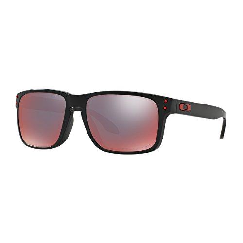 Oakley Matte Black Torch Iridum polarisierte Sonnenbrille HOLBROOK
