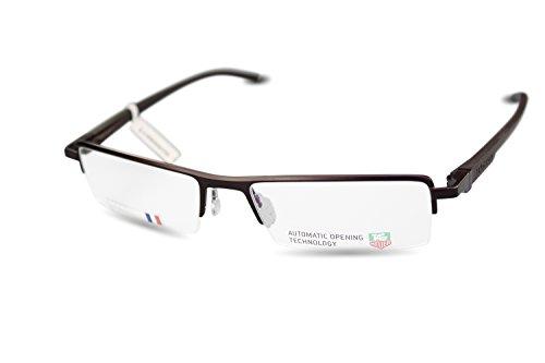 Preisvergleich Produktbild TAG HEUER Halbrand Brille TH0822 col.003 Rot, Schwarz/ 53[]17