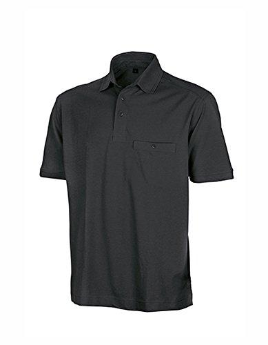 Apex Polo Shirt Black