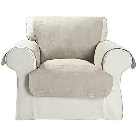 ZQ microsuede impermeabile copertura sedia beige solido cubo