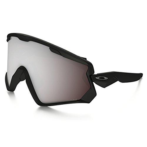 Oakley Herren Wind Jacket 2.0 707202 0 Sportbrille, Schwarz (Matte Black/Prizmblack), 99