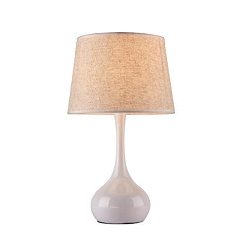 Moderne Metall-basis (JIE Tischlampe-Tischlampe Metall Basis Touch-Schalter kreative Moderne Einfachheit Wohnzimmer Schlafzimmer Arbeitszimmer dekorative Beleuchtung)