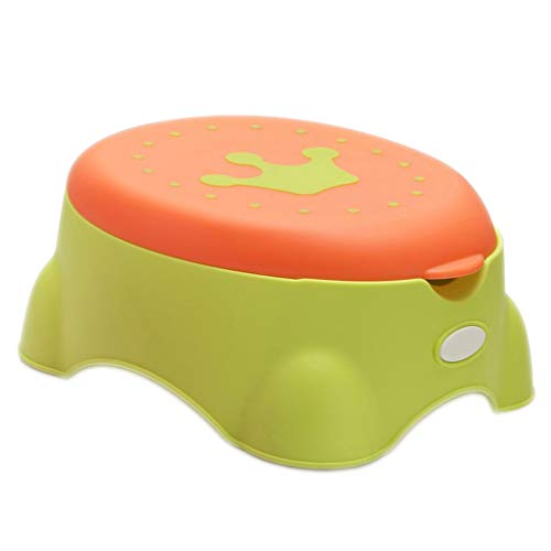 Bébé toilette Chaise De Bébé Commode pour Toilette Et Commode Anneau De Siège De Toilette Bébé Plus La Taille 0-3-6 Ans Enfant Tabouret Pot (34.6 * 39.7 * 18Cm)