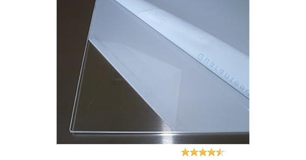 transparente Plaque Polycarbonate UV diff/érentes Tailles /épaisseurs PC incolore large s/élection alt-intech/® 2-20 mm 1000 x 400 mm, 3 mm