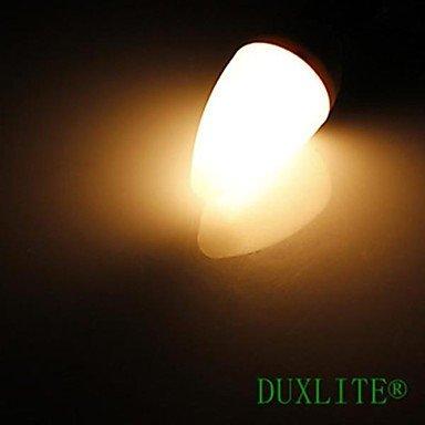 FDH 8W E14 Luces de velas LED SMD2835 C35 15 680 lm Blanco cálido de 85-265 V CA 2 PC