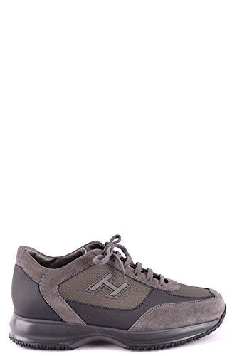 Hogan Sneakers Uomo Mcbi148478o Pelle Blu/Grigio 0Vc52CI0x