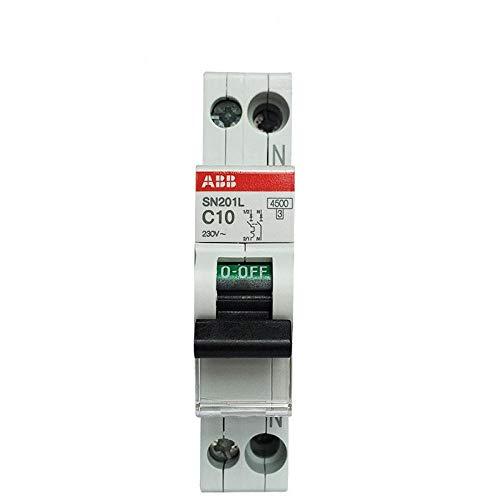 10a Einpolige (Luftschalter Leckschutz 1P + N Luftschalter Importierte einpolige Leitungsschutzschalter 1P + N 10A)